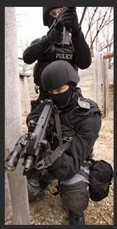 Policie zátah